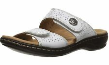d216225e1239 Clarks Leisa Lacole Slide Sandals White 9 US   40 EU