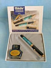 VINTAGE Tchibo PISTON FOUNTAIN PEN & INK in Original Box