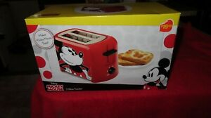 Disney Mickey Mouse Toaster Original Brand New with Mickey Mouse Imprint