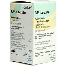 BM TEST Lactate Teststreifen 25 St PZN 1327677