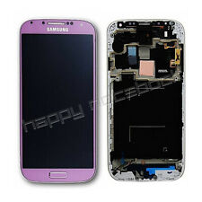 DISPLAY SAMSUNG ORIGINALE S4 I9505  I9515 ROSA TOUCH LCD SCHERMO GH97-14655G