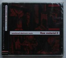 Raw Material 2 Rare Japan CD Still Sealed Electronic