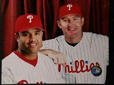 JIM THOME & PLACIDO POLANCO 2003 Philadelphia Phillies 8X10 PHOTO