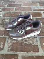 Nike Air Max Men's Running Shoes Size 6.5 Brown/Red