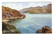 Coes Faen & Cader Idris - Barmouth Art Postcard 1953