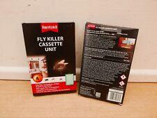 2 X RENTOKIL FLY & MOSQUITO KILLER CASSETTES