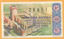 España Loteria Nacional del año 1962 edición facsimil (CO-241)