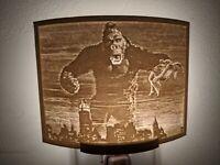 King Kong (1933) Lithophane Incandescent Night Light