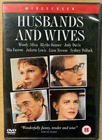 Husbands E Mogli DVD 1992 Woody Allen Relationship Drammatico W/ Liam Neeson