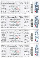 Vladimir Guerrero Jr MLB Debut Ticket! Toronto Blue Jays! Guaranteed Authentic!