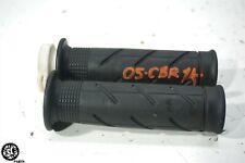 04 05 HONDA CBR 1000RR LEFT RIGHT HANDLEBAR GRIP THROTTLE TUBE
