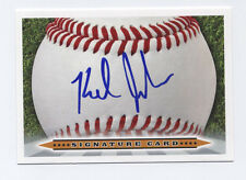 KEL JOHNSON Signature Card AUTO signed 2013 Perfect Game All American