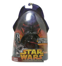 Hasbro Star Wars Revenge Of The Sith Darth Vader Lightsaber Attack Action Figure