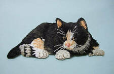 IRON-ON EMBROIDERED PATCH - CAT - KITTEN #1