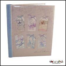 "Photo Album Birthday ""Treasured Memories"" Design – Self adhesive"