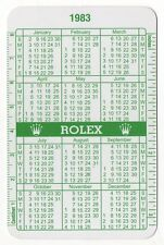 1983 1984 vintage Rolex CALENDARIO VERDE 16550 16660 16618 16750 Explorer Day Date