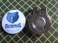 GOLF / Memphis Grizzlies Logo Golf Ball Marker/with Magnet Hat Clip New!!