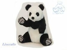 Sitting Panda Cub Plush Soft Toy by Hansa 6057