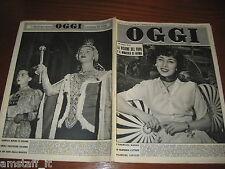 OGGI=1951/43=VALENTINA CORTESE=LE SABRE=EMMY SONNEMANN=PINUCCIA AMIOTTI=