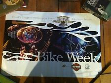 2007 Harley Davidson Bike Week 66Th Annual Double Sided Poster Qty