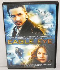 DVD Eagle Eye Shia LaBeouf Michelle Monaghan Billy Bob Thornton Rosario Dawson