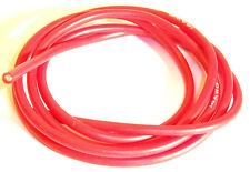 14awg 14AWG Cable de silicona 50cm 500mm Rojo 3.5mm grosor