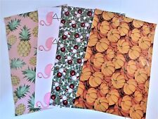 100 10x13 Pineapple Flamingo Christmas Pumpkin Mailers Poly Shipping Envelopes