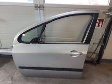 Tür vorne links Lack: EZRC Silber Peugeot 307 SW Break 2003 3H RHS