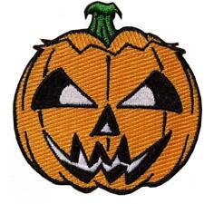 Kreepsville 666 Pumpkin Halloween Embroidered Patch Jack o Lantern Ghoul NEW