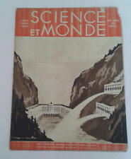 JDN Livre SCIENCE ET MONDE n12  6 8 1931 centrale hydraulique ROGER SOUBIA