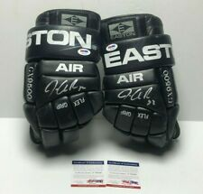 Jonathan Quick Dual Signed Game Used GX500 Easton Hockey Gloves *Kings PSA