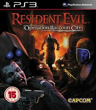 Resident Evil: Operation Raccoon City (Sony PlayStation 3, PS3)