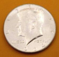 1964 50C Kennedy Half Dollar 90% SILVER - UNCIRCULATED; SHARP-NR