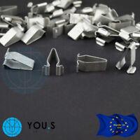5 Stück Klammern Metal Muttern für AUDI VW SEAT SKODA - 4A0867276 - NEU