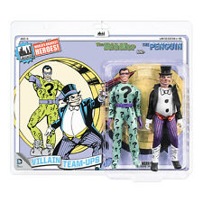 DC Comics Mego Style 8 Inch Retro Figure Two-Packs: The Riddler & The Penguin