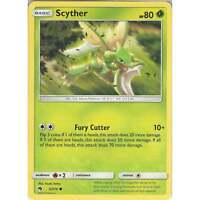Pokemon TCG Card:Scyther - 3/214 - Common Card - Sun & Moon Lost Thunder SM8