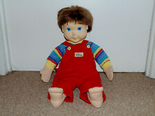 """Vintage 1985 Hasbro 22"""" Brunette My Buddy Doll with Some Clothing"""