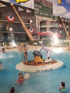 Walt Disney Disneyland Poster Goofy Baseball Vacation Travel Agent