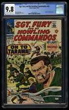 Sgt. Fury and His Howling Commandos #49 CGC NM/M 9.8 Highest Graded!