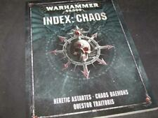 WH40K  Index Chaos (German) 2017 Heretic Astartes -Chaos Daemons