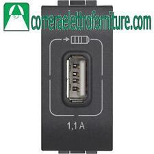 BTICINO LIVING LIGHT L4285C1 USB RICARICA