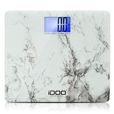 High Precision Digital Bathroom Weight Scale 440 Pound Capacity Wide Heavy-Duty
