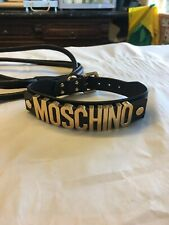 H&M Moschino Dog Collar & Lead
