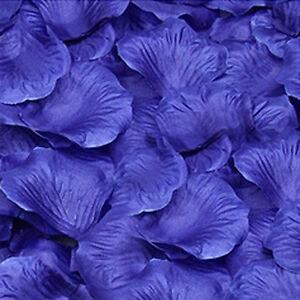 1000Pcs Flower Rose Petals Floral Confetti Decor Wedding Party Table Decoration