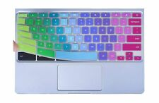 Colorful Keyboard Cover for 2019/2018/2017 Samsung Chromebook 3 XE500C13 XE50...