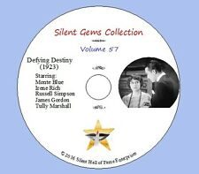 """DVD """"Defying Destiny"""" (1923) with Monte Blue, Irene Rich, Classic Silent Drama"""