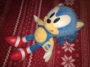 """20"""" PROTOTYPE JAKKS CLASSIC SONIC Plush SEGA Toy Doll Sample TAGGED"""