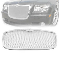 CHRYSLER 2005-10 300/300C CHROME FRONT UPPER 2.5MM WIRE MESH GRILLE GRILL INSERT