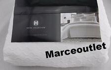 Hotel Collection Diamond Matelasse KING Duvet Cover White