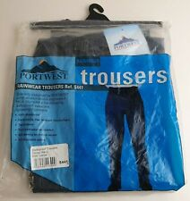 Waterproof Rain Trousers Mens Womens Lightweight Over Pants Adult Portwest S441